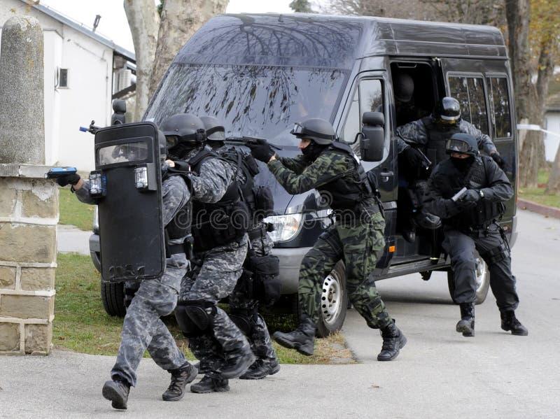 SWAT-Team stockbild
