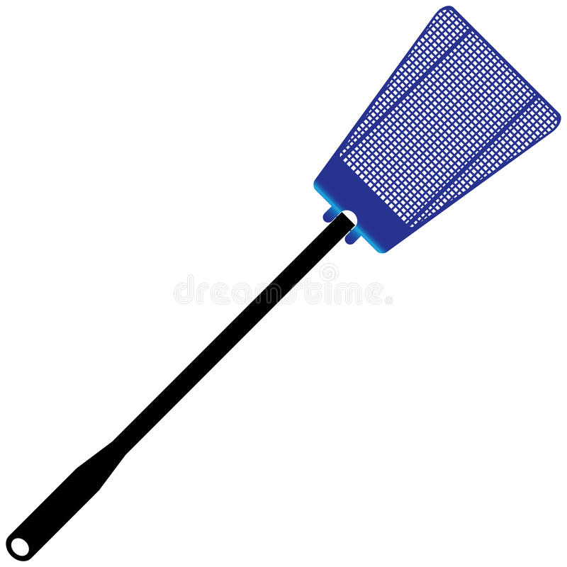 Download Swatter stock vector. Image of material, swatter, black - 25206311
