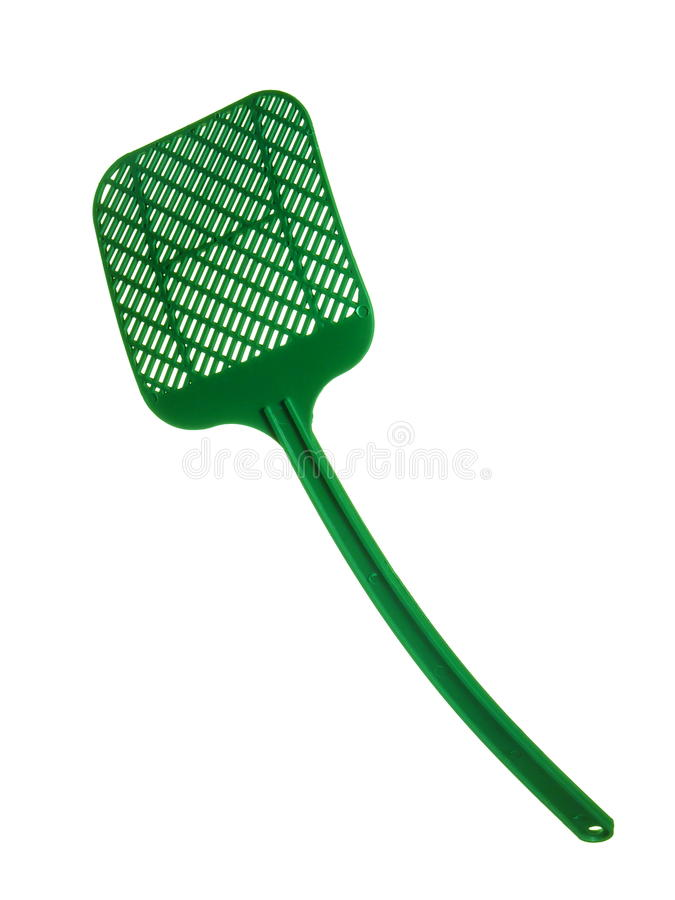 Swatter de mosca fotografia de stock