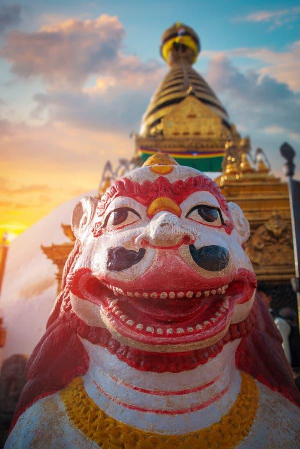 Swayambhunath lizenzfreie stockbilder