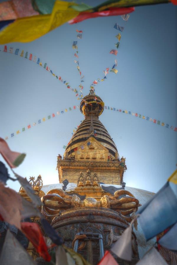 Swayambhunath lizenzfreie stockfotografie