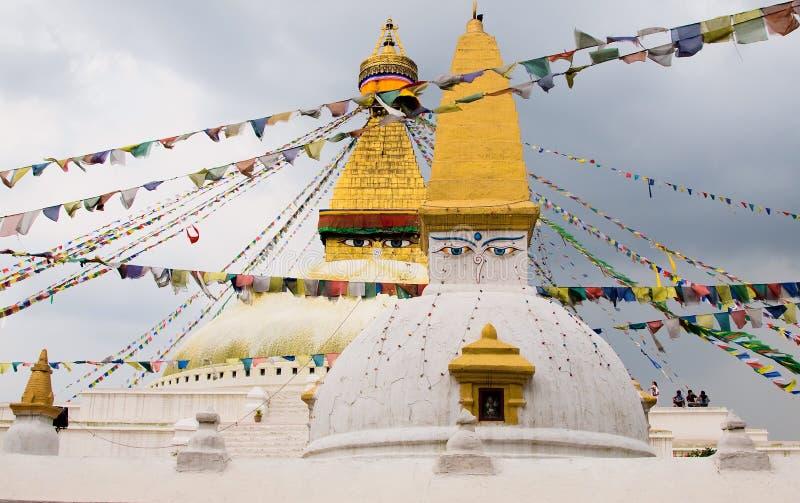 Swayambhunath image stock