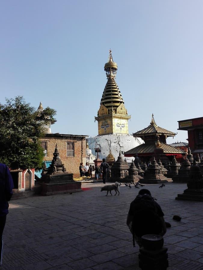 Swayambhunath royaltyfria foton