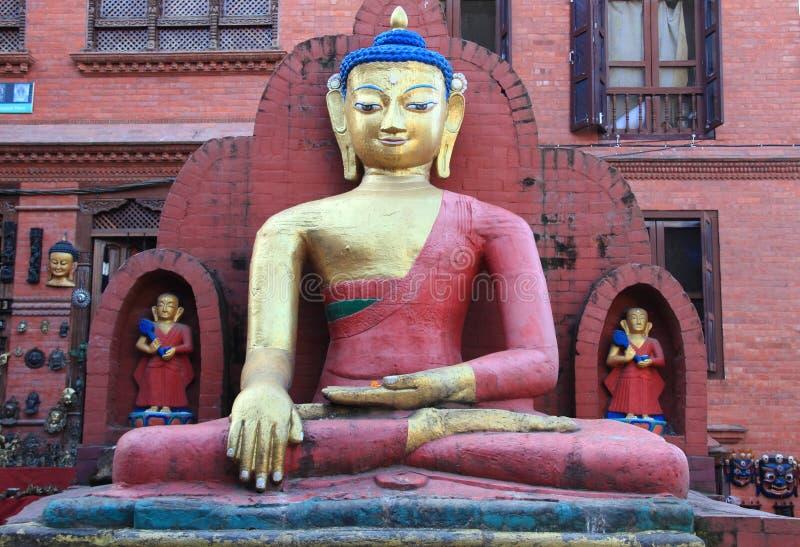 Swayambhunath au Népal. image stock