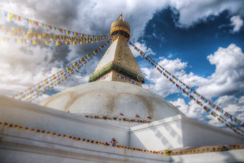 Swayambhunath Stupa lizenzfreie stockfotografie