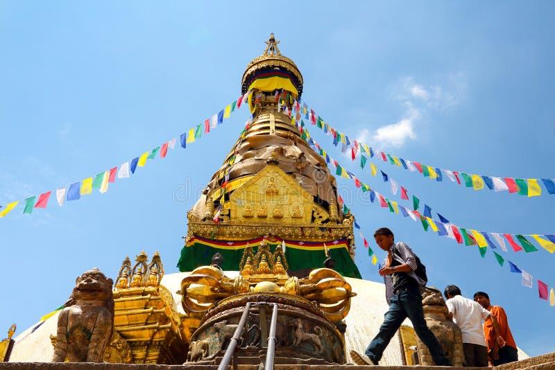 Swayambhunath stock photography