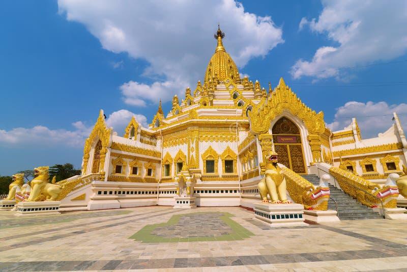 Swe Taw Myat在仰光,缅甸 库存图片