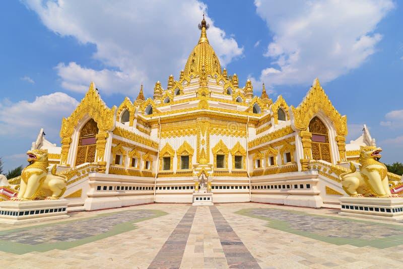 Swe Taw Myat em Yangon, Myanmar fotos de stock
