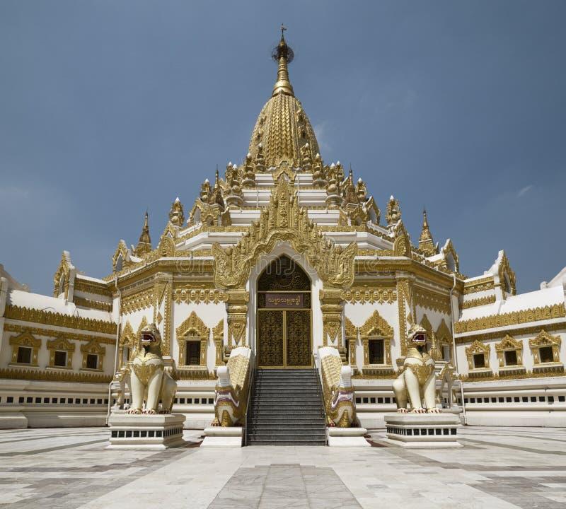 Swe Taw Myat, pagoda de relique de dent de Bouddha, Myanmar photo stock
