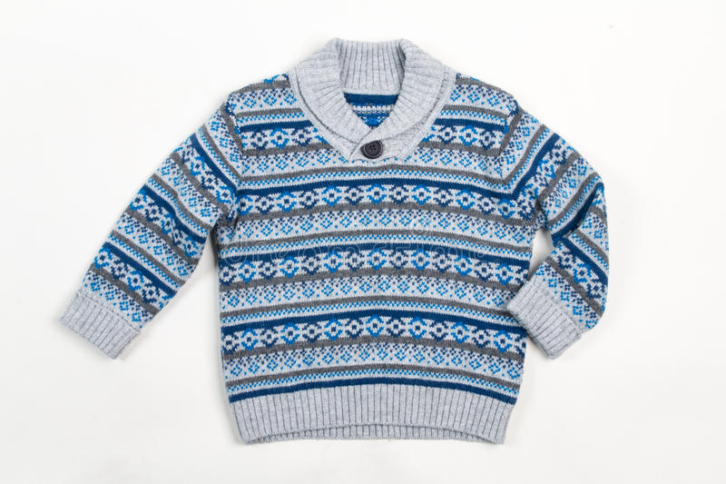 Sweater for children stock photography