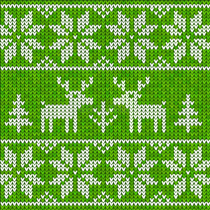 Download Sweater with deer stock vector. Image of holiday, background - 27448518