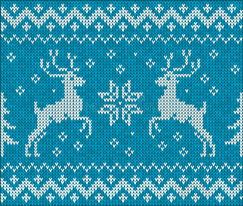 Sweater With Deer Royalty Free Stock Photography