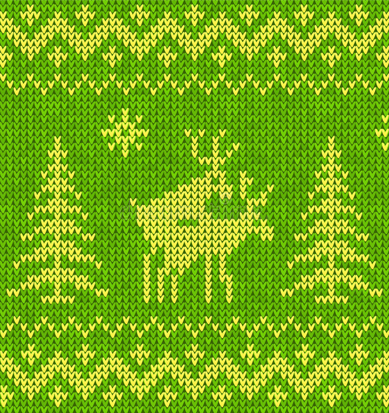 Sweater With Deer Royalty Free Stock Photos