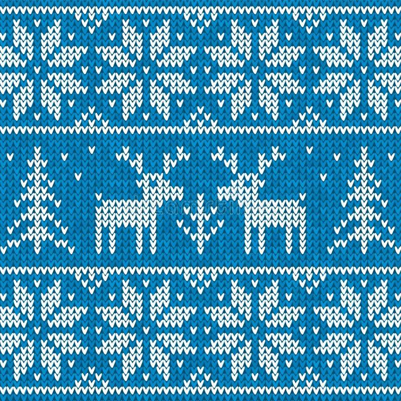 Download Sweater with deer stock vector. Image of card, fiber - 27597273