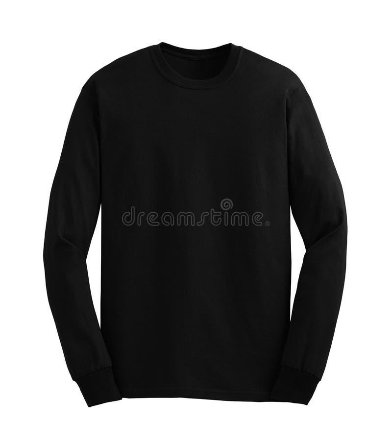 Sweater met een kap die op wit wordt geïsoleerd stock afbeelding