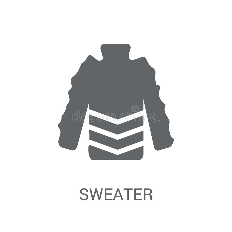 Sweaterpictogram  stock illustratie