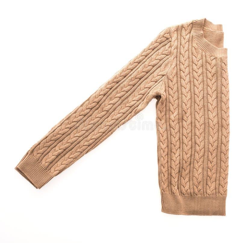 Sweaters die zich voor wintertijd kleden stock afbeeldingen