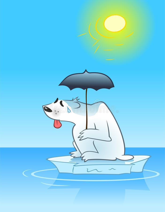 Download Sweating Polar Bear Stock Image - Image: 20103721