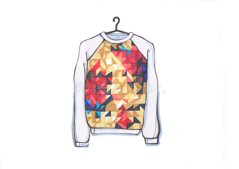 sweatshirt fotografia stock