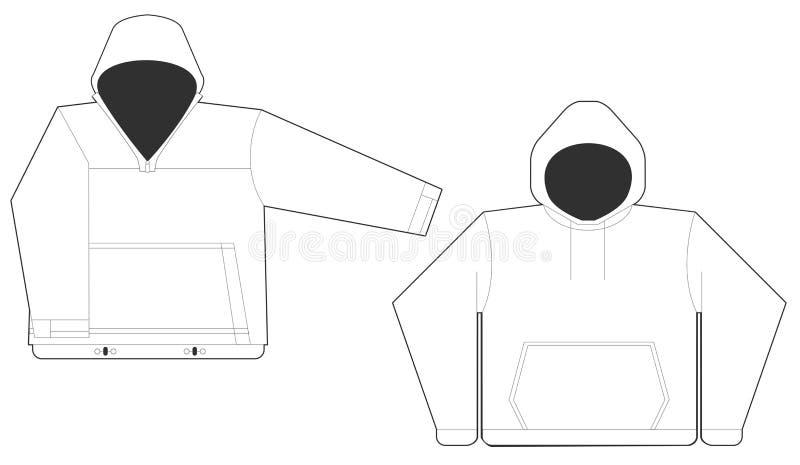 Sweatshirts royalty-vrije illustratie
