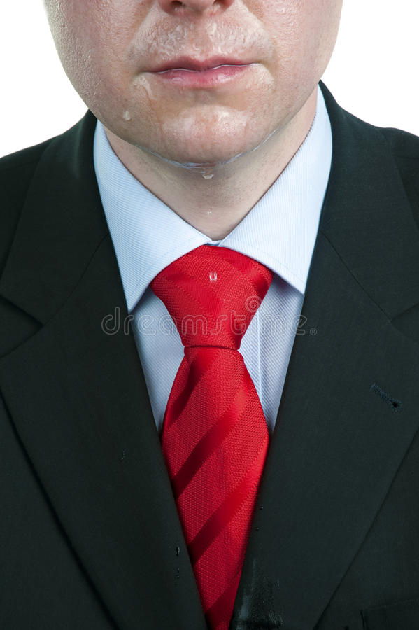 Download Sweaty Businessman stock image. Image of space, suit - 22440343