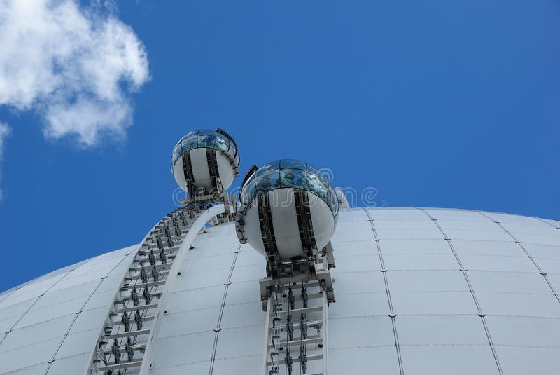 Sweden Ericsson Sphere stock images