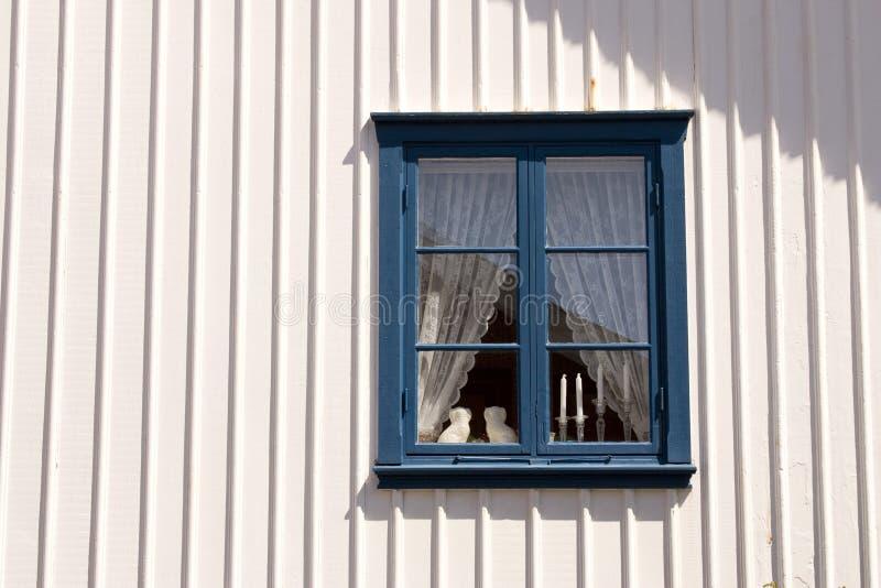 sweden fönster royaltyfria foton