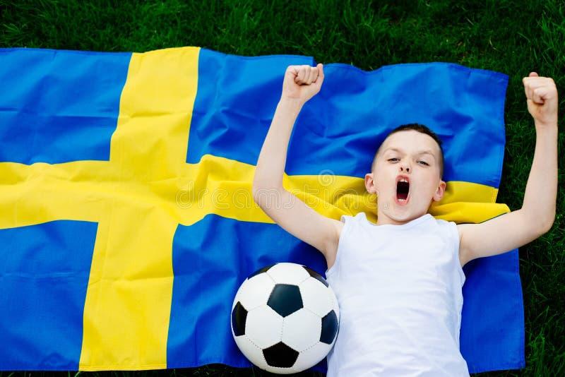 sweden futbolowa krajowa drużyna obrazy royalty free