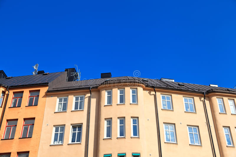 Sweden houses royalty free stock photo