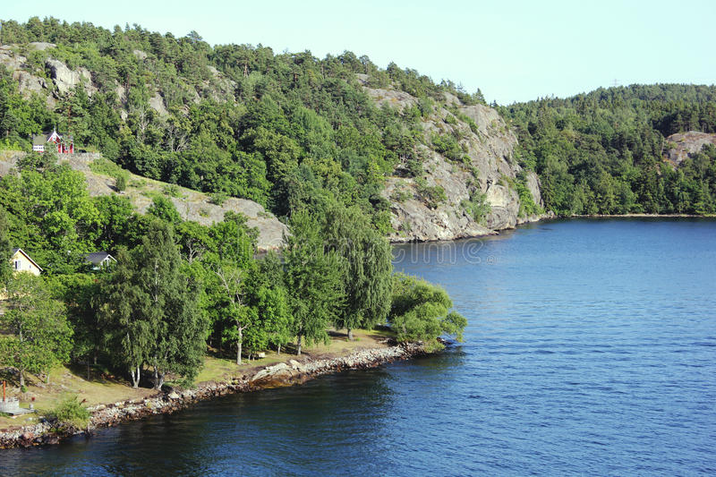 Sweden island royalty free stock images