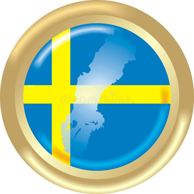 Download Sweden Map And Flag Stock Photo - Image: 2627310