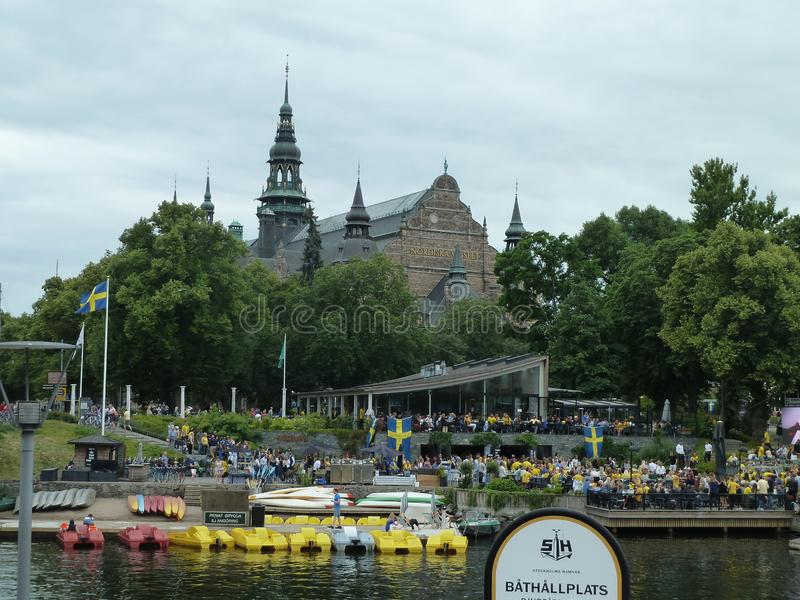 Sweden, Stockholm - the Nordic Musem. royalty free stock photography