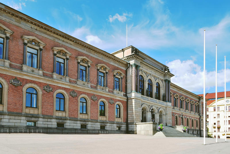 sweden universitetar uppsala royaltyfri fotografi