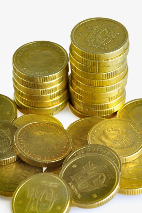 Download Swedish 10 krona stock image. Image of growth, gold, savings - 23323817