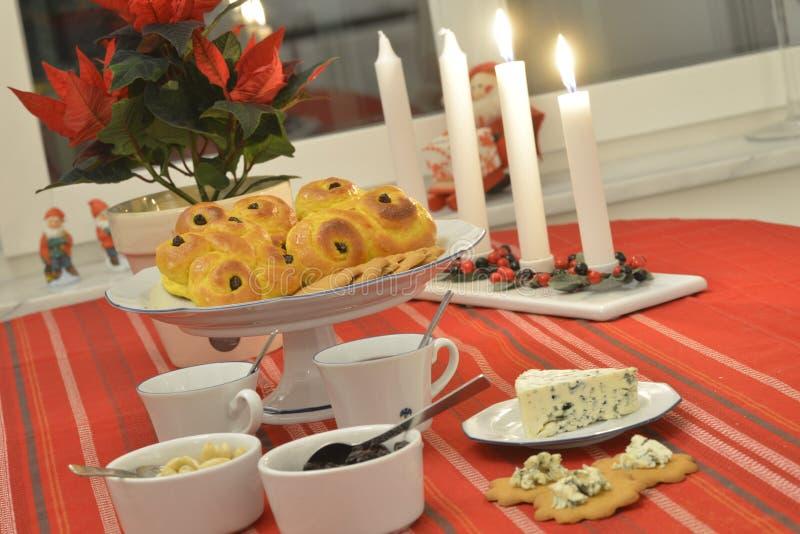 Swedish advent celebration stock images