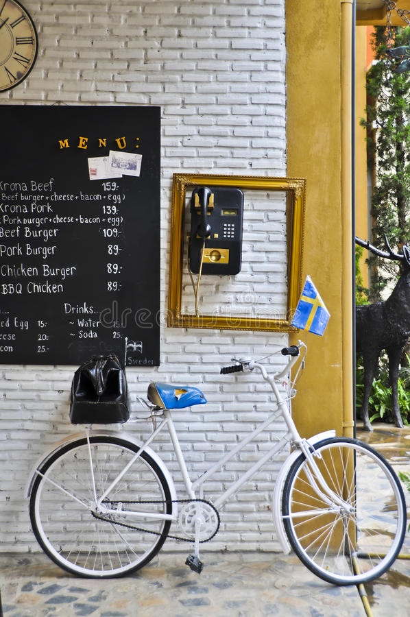 Swedish bicycle. stock images