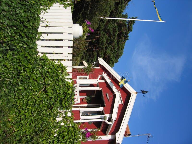 Swedish cottage stock photos