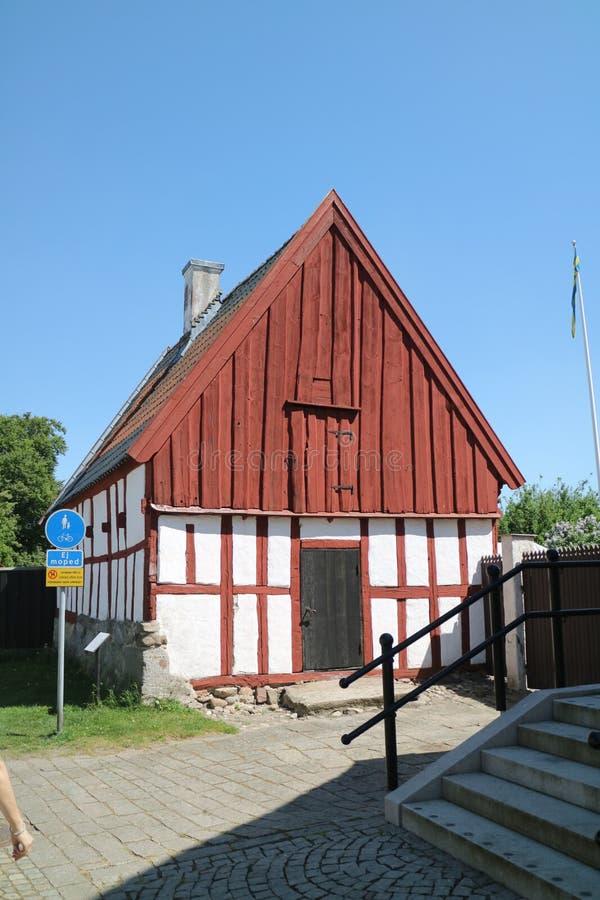 Swedish cottage royalty free stock photo