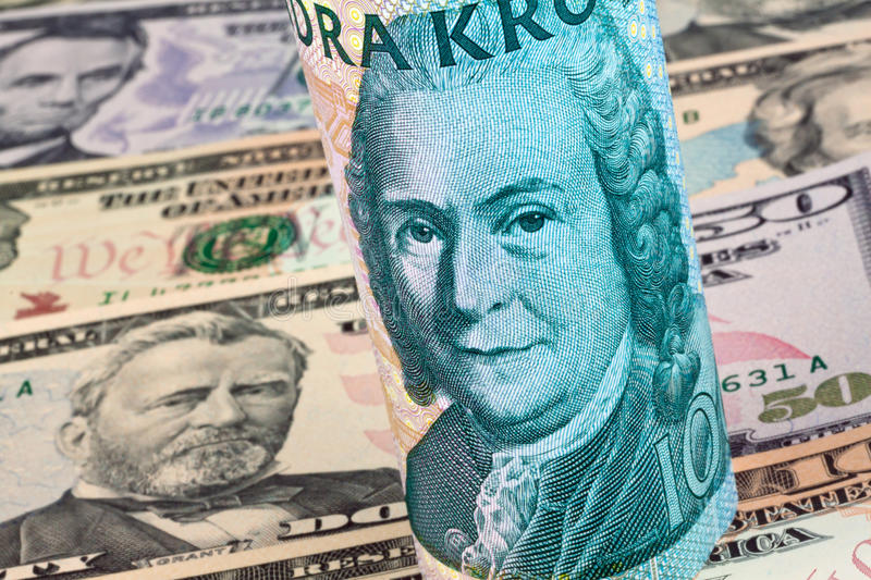 Download Swedish Crowns. Multiple Currencies Stock Photo - Image: 17415158