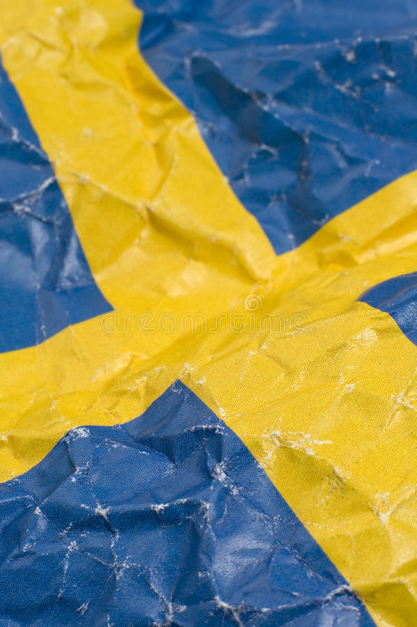 Download Swedish flag stock image. Image of european, detail, swedish - 11441171
