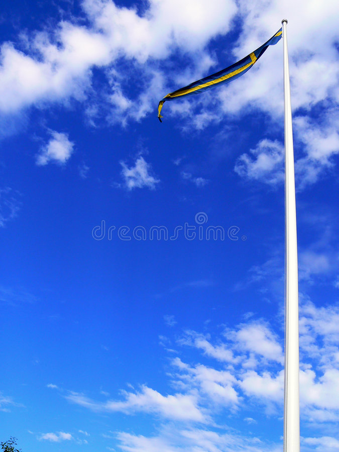 Free Swedish Flag Royalty Free Stock Photos - 1169328