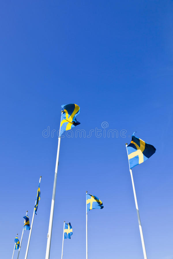 Download Swedish Flags Royalty Free Stock Images - Image: 25502729