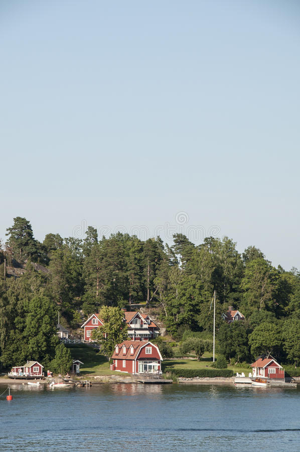 Download Swedish houses stock photo. Image of building, sweden - 31822216