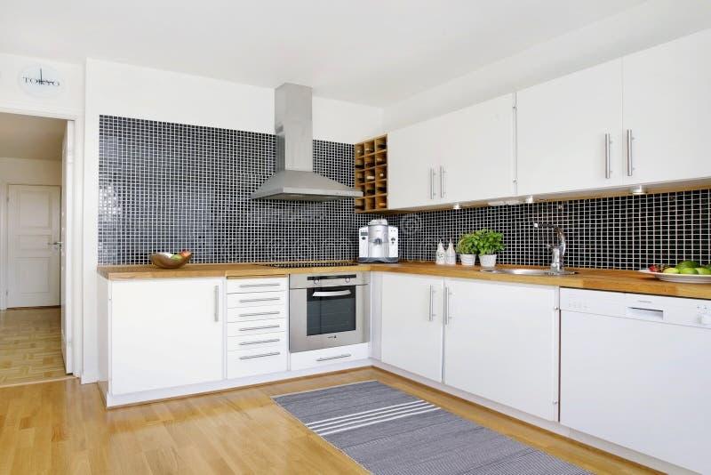 Swedish kitchen royalty free stock photos