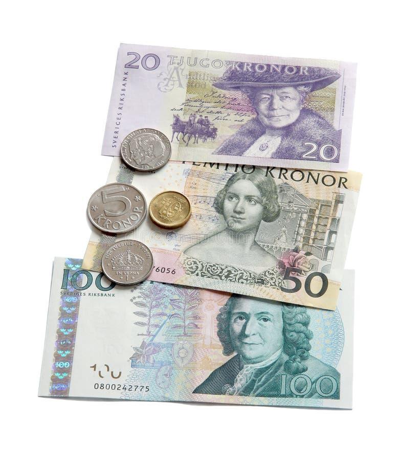 Swedish Krona. Royalty Free Stock Photography
