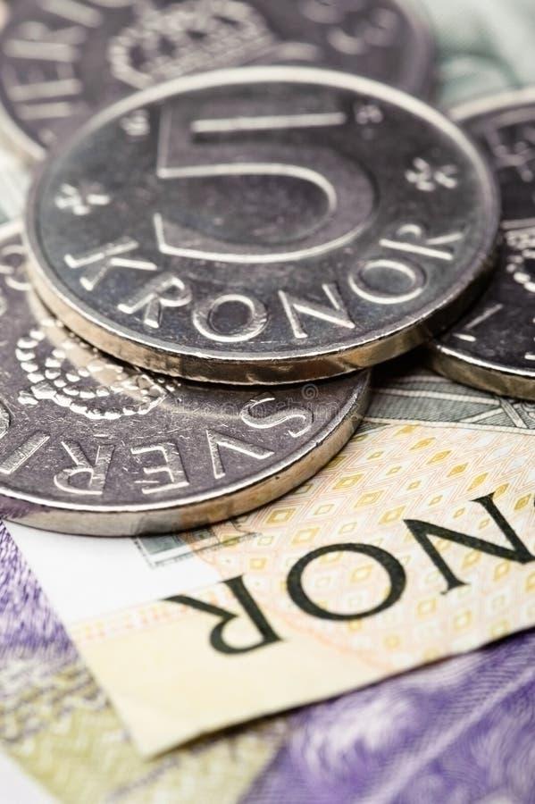 Download Swedish krones stock photo. Image of coin, macro, finance - 21712734