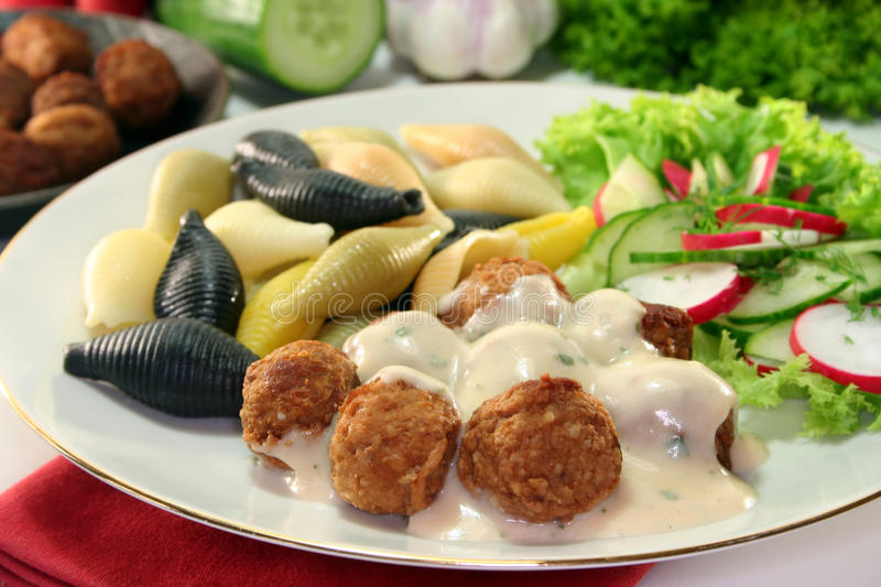 Swedish Meatballs Royalty Free Stock Image