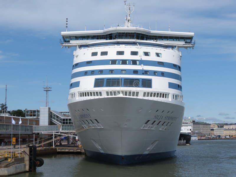 Download Swedish MS Silja Symphony Cruiseferry In Helsinki Editorial Stock Photo - Image: 37756263