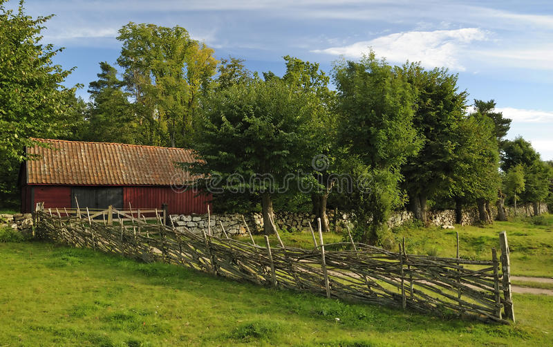 Swedish old architecture royalty free stock images