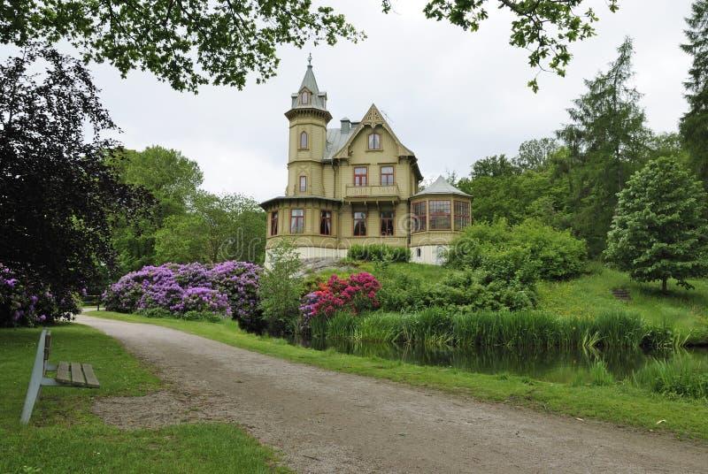 Swedish park architecture royalty free stock image
